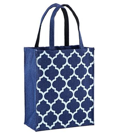 reusable canvas gift bag DIY Comfort Kit for Cancer Patients