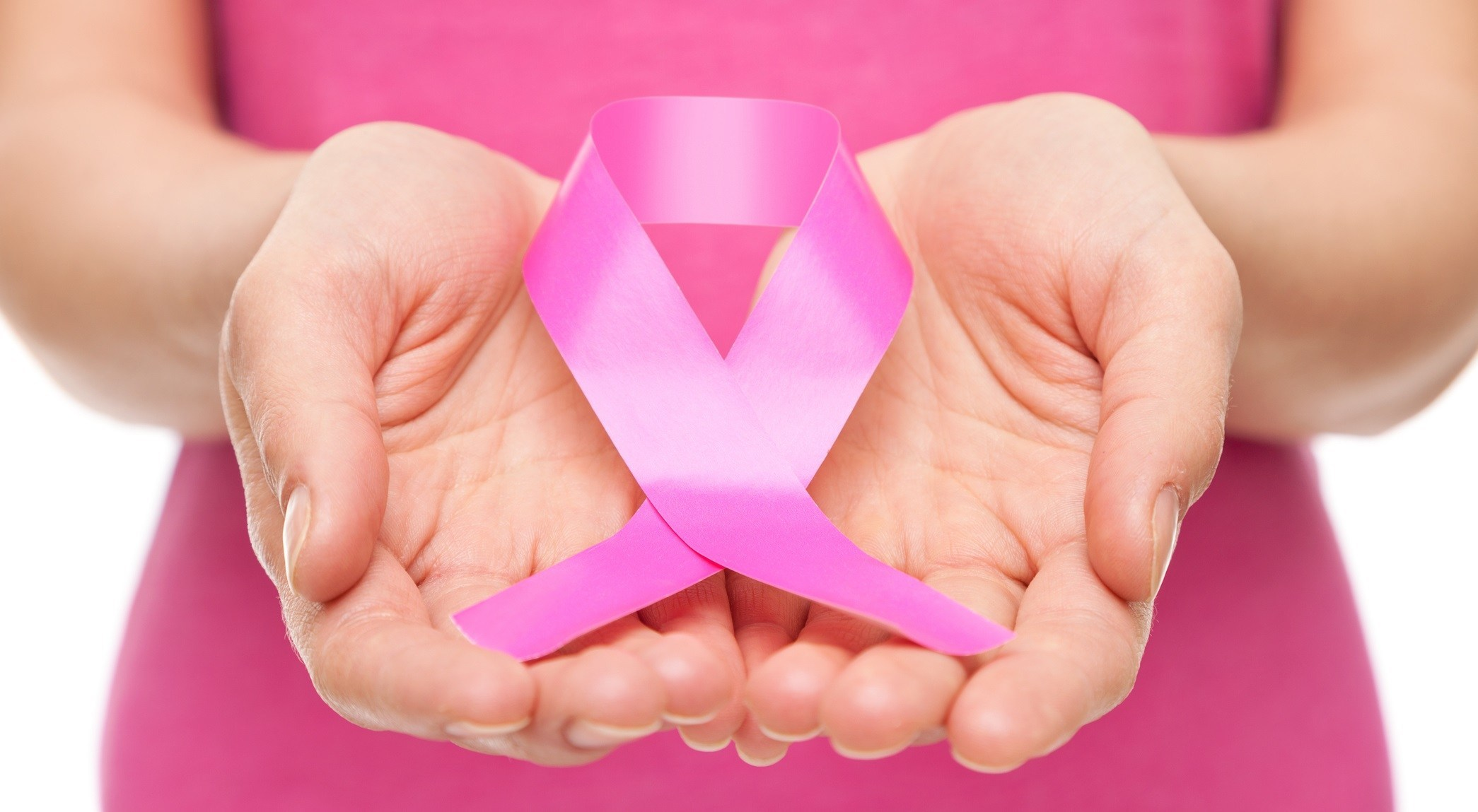 Free products and services for breast cancer patients ribbon